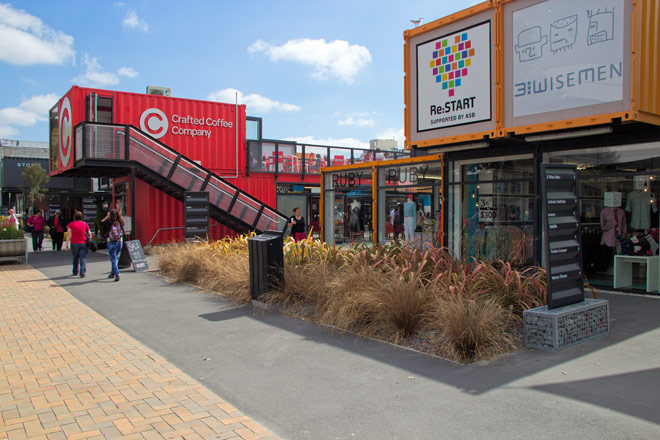 Container Christchurch